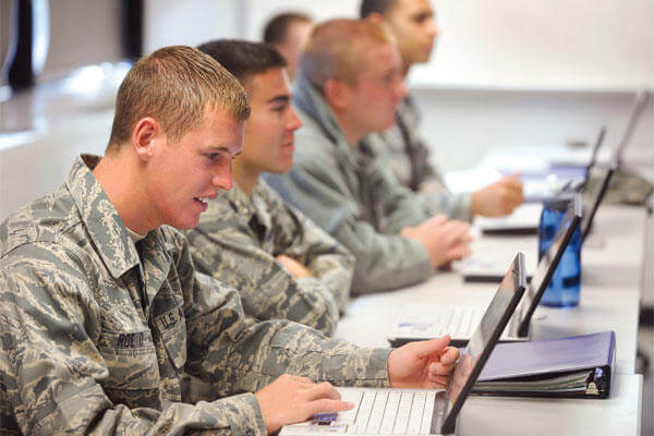 education support programs for the military