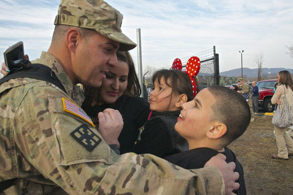 Soldiers homecoming christmas 2019 gift