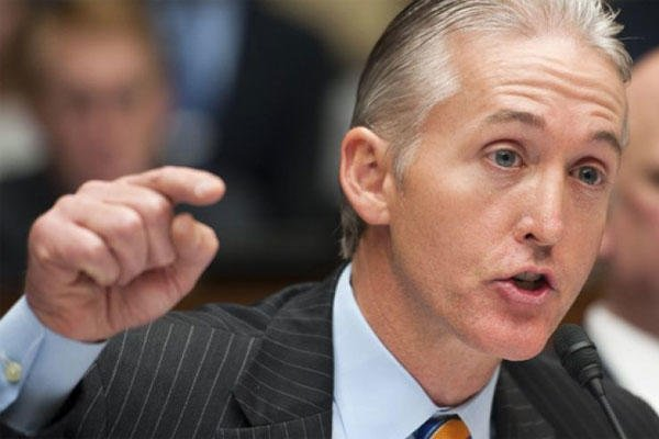 Rep. Trey Gowdy, R-S.C., questions a witness during the House Oversight and Government Reform Committee's hearing on Benghazi on Capitol Hill in Washington. (AP)