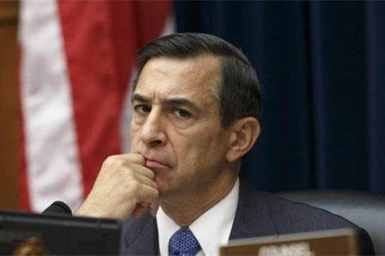 House Oversight Committee Chairman Rep. Darrell Issa, R-Calif. listens on Capitol Hill in Washington, Tuesday, Sept. 30, 2014, as Secret Service Director Julia Pierson answers questions about the breach at the White House(AP Photo/J. Scott Applewhite)
