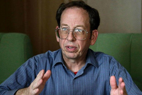 Jeffrey Fowle, an American detained in North Korea, speaks to the Associated Press in Pyongyang, North Korea, Sept. 1, 2014. Wong Maye-E/AP