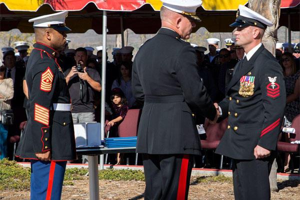 Marsoc Special Amphibious Reconnaissance Corpsman Receives