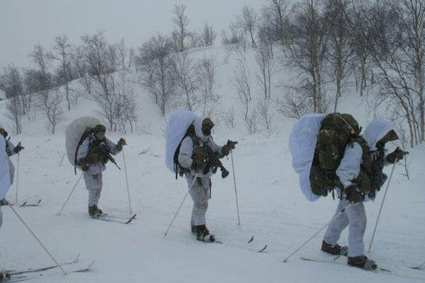 Researchers from the U.S. Army Research Institute of Environmental Medicine partnered with the Norwegian Defence Research Establishment to study nutrition and physiological responses to cold-weather training. (U.S. Army photo)
