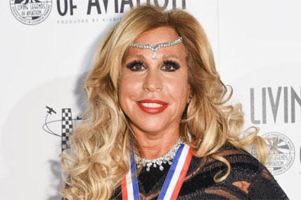 In this Jan. 16, 2015 photo, Wall Street executive Lynn Tilton attends the 12th Annual Living Legends of Aviation Awards at The Beverly Hilton Hotel in Los Angeles. (Photo by Rob Latour/Invision/AP)