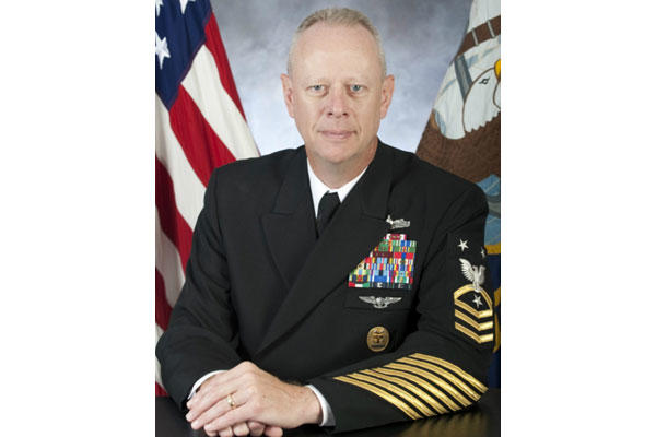 Command Master Chief Gregg L. Snaza (U.S. Navy photo)