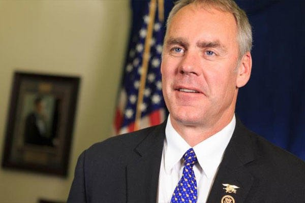 U.S. Rep. Ryan Zinke (Photo: speaker.gov)