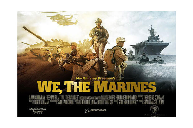 """We, The Marines"" movie poster"