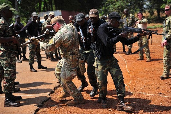 Silent Warrior 2013 provides a venue to build relationships between U.S. Special Operations Forces and Cameroon's 3rd Bataillon d'Intervention Rapide