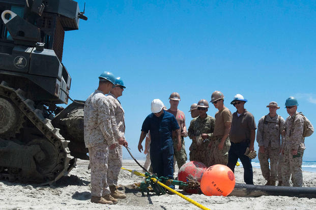 Marines Beach Terminating Unit Training