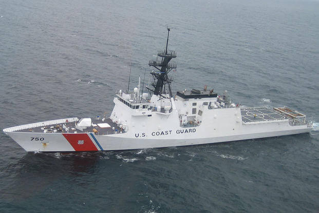 Coast Guard Cutter Bertholf. Chief Warrant Officer Brian Carlton/Coast Guard