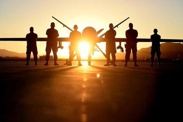 In order to support remotely piloted aircraft missions around the world, every RPA combat air patrol requires the dedication of nearly 200 Airmen in various capacities. (U.S. Air Force photo/Tech. Sgt. Nadine Barclay)