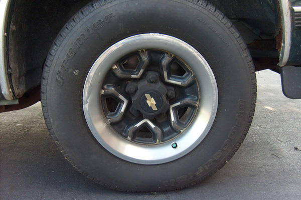 A spare tire