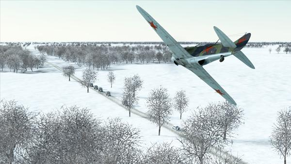 IL-2 Sturmovik: Battle of Stalingrad screenshot convoy