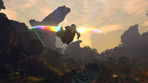Firefall screenshot, fly