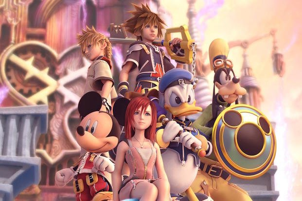 "Characters look better than ever in the ""Kingdom Hearts Remix"" game."