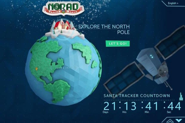 NORAD tracks Santa's progress each Christmas via their NORADSanta.org website.