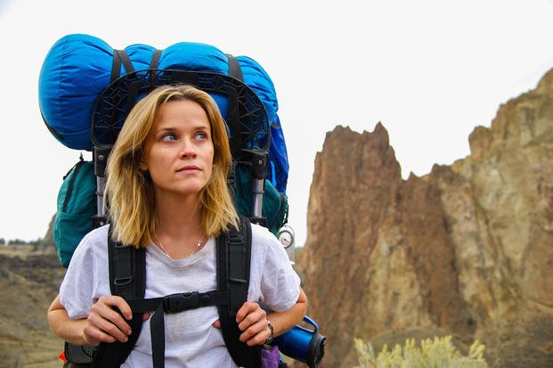 "This image released by Fox Searchlight Pictures shows Reese Witherspoon in a scene from the film, ""Wild."""