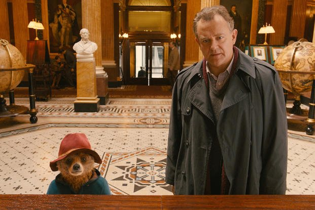 "Hugh Bonneville stars in ""Paddington."""