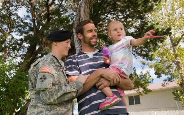 Joining the army as a single parent