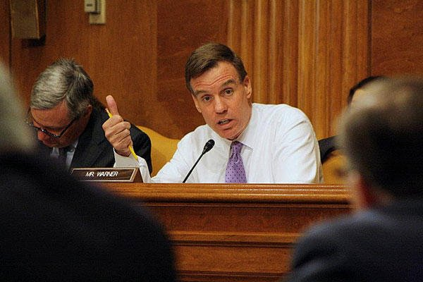 Sen. Mark Warner. Photo by Senate Budget Committee staff