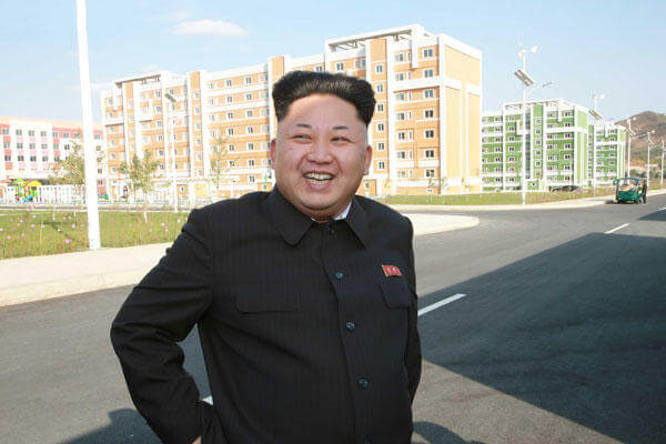 Kim Jong Un. A photo released by North Koreas official news agency on Oct. 14, 2014.