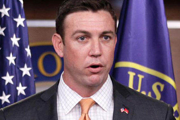 Rep. Duncan Hunter, R-Calif., a member of the House Armed Services Committee. AP Photo/File