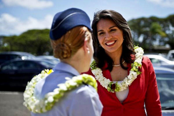 U.S. Rep. Tulsi Gabbard, D-Hawaii, is one of a shrinking number of veterans serving in Congress. (DoD photo)