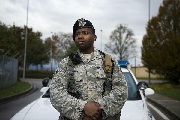 Senior Airman Deric Johnson