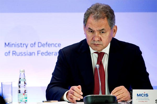 Russian Defense Minister Sergei Shoigu proposed the U.S. join in calling on all factions in Syria's many-sided civil war to abide by the ceasefire.