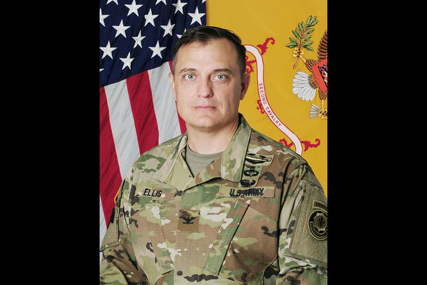 Col. Patrick J. Ellis will take command of 2nd Cavalry Regiment from Col. John V. Meyer III during a change of command ceremony on July 15, 2016. (U.S. Army Photo)