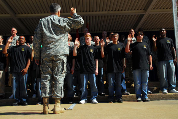 Joining the military with a ged