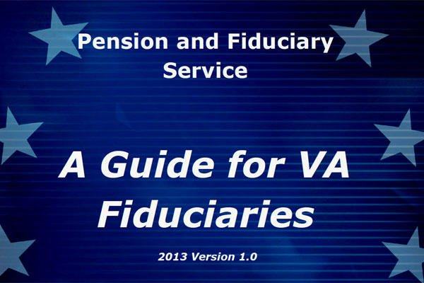 The cover of a VA publication about its fiduciary program, which came under heavy criticism from the department's own inspector general. (VA photo)
