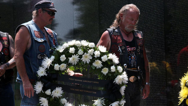 Vietnam Veterans Honored on Memorial Day