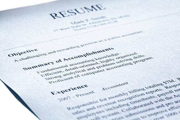 resume - Sample Military Resume