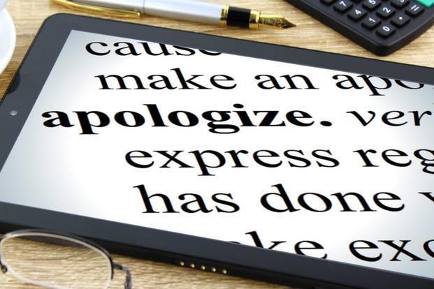 apology definition