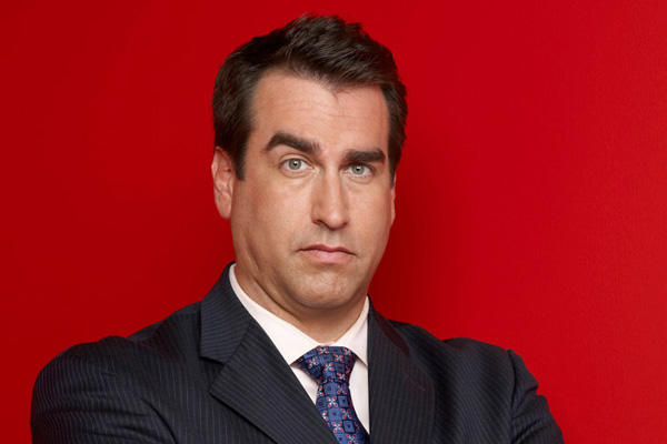 Rob Riggle headshot.