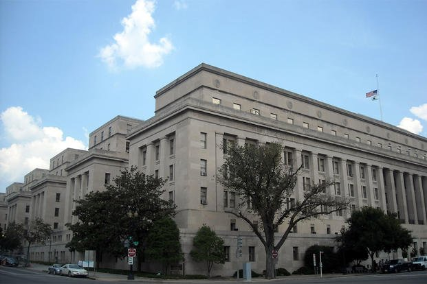 Department of the Interior headquarters at 18th and C Streets, NW in Washington, D.C. (Photo: Wikimedia Commons by AgnosticPreachersKid)