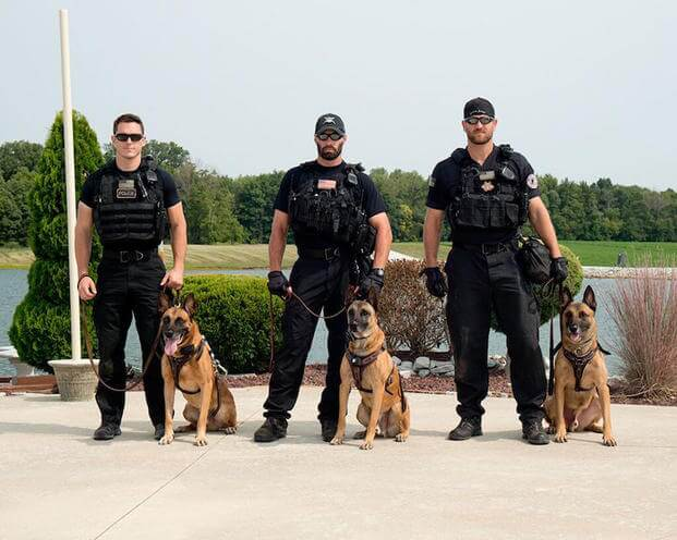Secret Service dogs and handlers train extremely hard together Photo courtesy of the US Secret Service).