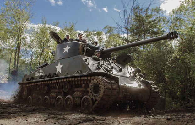Drive A Tank >> Fire A Sherman S Main Gun At Drive A Tank Military Com