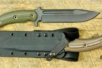 RMJ Tactical's new Combat Africa fixed blade. Photo: Knifecenter.com.