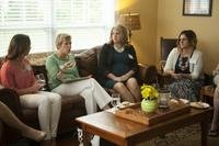 Ellyn Dunford, wife of U.S. Marine Corps Gen. Joseph F. Dunford Jr., former Commandant of the Marine Corps, speaks with wives of enlisted Marines and officers. (U.S. Marine Corps/Chloe Nelson)