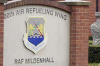 RAF Mildenhall was the site of a security incident on Dec. 18, 2017. Benjamin Cooper/Air Force