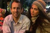Lewis Bennett, left, is charged in the death of his wife, Isabella Hellmann, right. Facebook photo