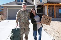 "Maria Reed and her Army husband host the web-based show ""Moving With the Military."" (Courtesy of Maria Reed)"
