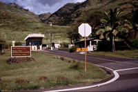 Entrance to the Kaena Point Satellite Tracking Facility in Hawaii. (US Air Force photo)