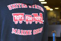 Toys for Tots is a program managed by the Marine Corps Reserve that collects and distributes toys to needy children for Christmas. (U.S. Marine Corps/Nathan Hanks)