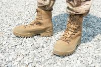 The Army is testing new combat boot design prototypes after thousands of soldiers responded to a survey they would rather buy their own than wear Army-issued boots. The boots pictured are not part of the test. (U.S. Army)