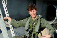 Amy McGrath, now a candidate for Congress, served 20 years in the Marine Corps and flew 89 combat missions against Al Qaida and Taliban forces. (US Marine Corps photo)