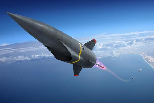 High Speed Strike Weapon (Photo courtesy of Lockheed Martin)