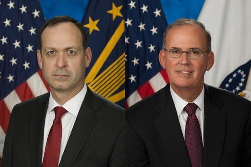 Acting Secretary of the Department of Veterans Affairs Peter O'Rourke (left) and Inspector General of the Department of Veterans Affairs Michael J. Missal (Images: Dept. Of Veterans Affairs)
